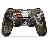 DeinDesign Skin kompatibel mit Sony Playstation 4 PS4 Pro Controller Folie Sticker Kuh Kalb Landwirtschaft