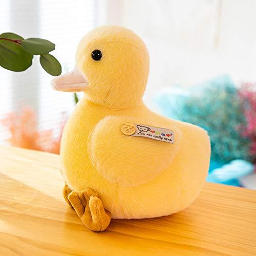 HJYHXY Una Familia de Tres muñecos de Pato muñecos de Peluche para niños-Duck_22cm