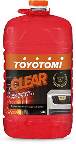 Toyotomi 2828554 Combustibile Universale Inodore per Stufe Portatili, Gold_10, 10 litri
