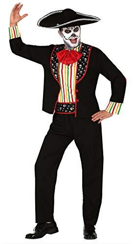 FIESTAS GUIRCA Disfraz de calaca Esqueleto Mexicano Día del Hombre Muerto