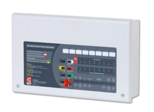 TC442Alarm Brandschutzmittel konventionell 2Weckzeiten 4Zonen cfp704- Bedienfeld–2Kabel