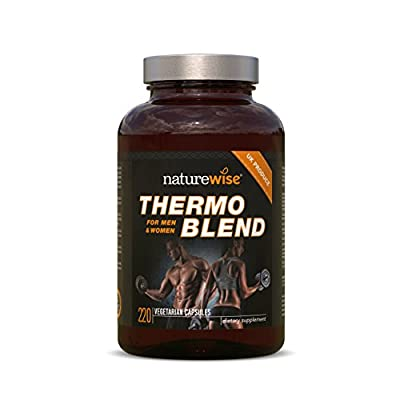 NatureWise Thermo Blend **NEW Advanced Formula** Thermogenic Fat Burner for Weight Loss and Natural Energy by NatureWise