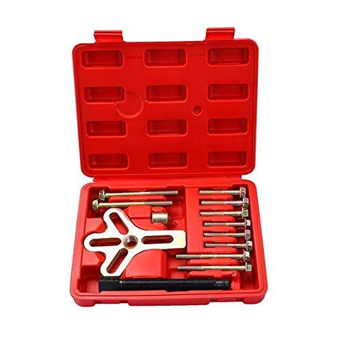 NECZXW1 Kit de equilibrador armónico de Alta Resistencia de 13 Piezas, Juego de Herramientas de desmontaje y desmontaje, forja de Acero al Cromo vanadio, Tratamiento de Superficie antioxidante