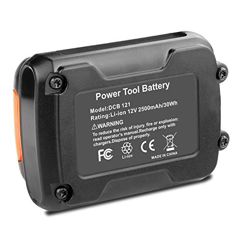 Lithium-Ion Replacement Battery for DCB120 DCB127 DCB127-2 DCB121, DCB100 DCB101 DCB119