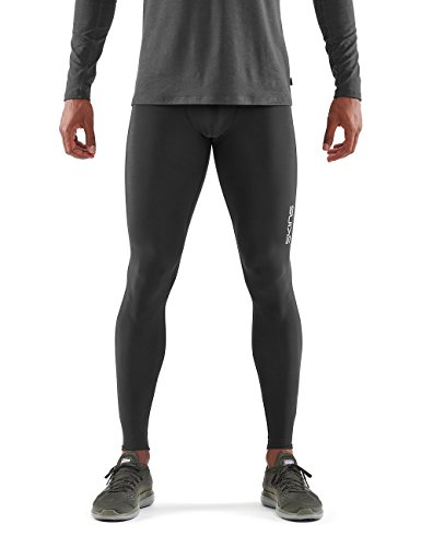 Skins Herren Long Tights DNAmic Force Thermal Mens Long Tights Black L, Black, L, DG00010019001L