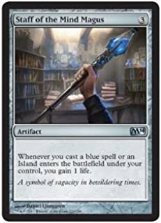 Magic: the Gathering - Staff of the Mind Magus (221/249) - Magic 2014