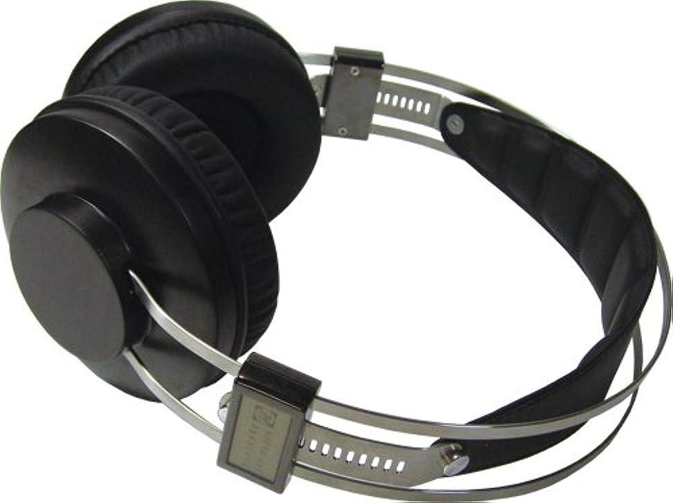 はず仮装薄暗いHOUSE USE PRODUCTS(ハウスユーズプロダクツ) ヘッドフォン WOODEN HEADPHONE PROVO BLACK HFT147 [正規代理店品]