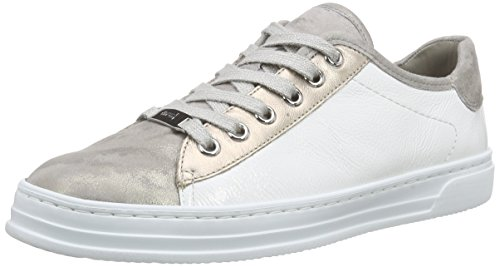 ara Damen Courtyard Sneaker, Grau (chiara,platin/weiss 12), 41 EU (7 UK)