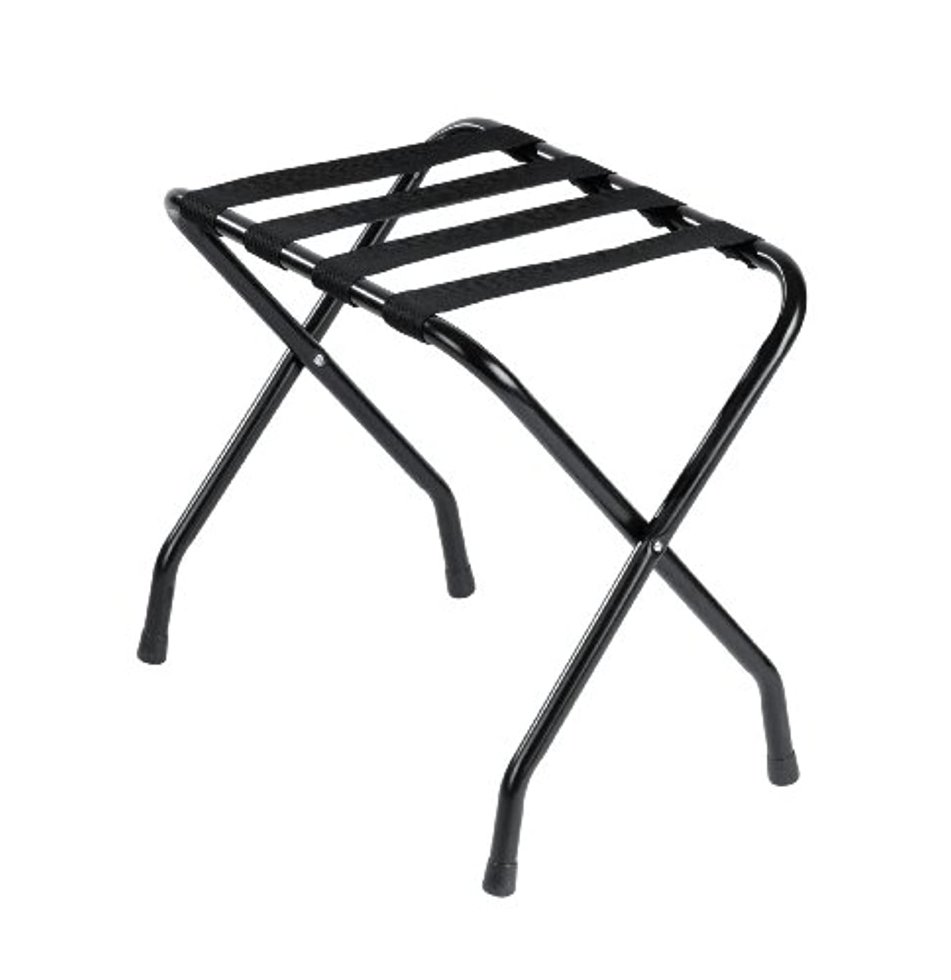Wholesale Hotel Products Folding Metal Luggage Rack, Black Finish qheupo3295897