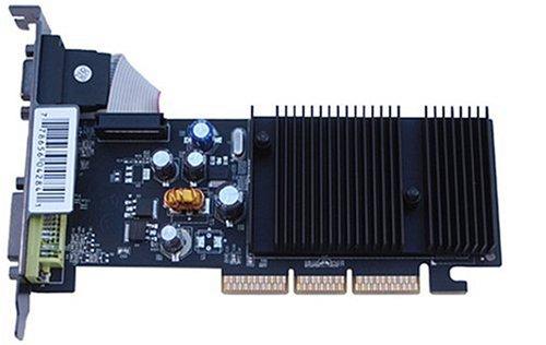 XFX PVT44APANG GF 6200 128MB DDR AGP Grafikkarte Dual-DVI