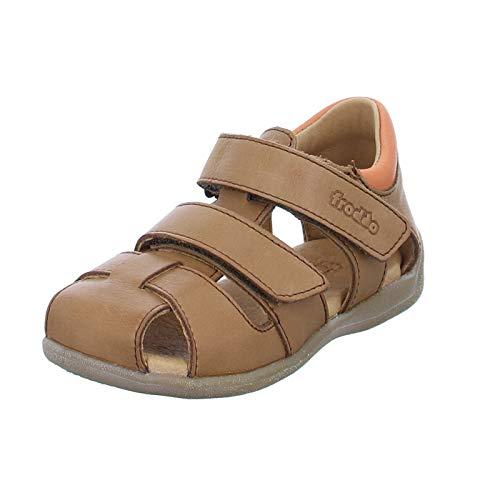 Froddo Lauflerner Sandale Doppelklett Braun 25