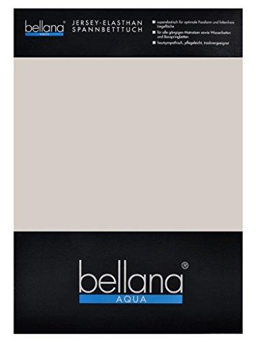 Bellana® Aqua Jersey Multifunktions-Spannbettlaken für Wasserbetten in Normal- und Übergrößen, 180-200x200-220 cm in Taupe
