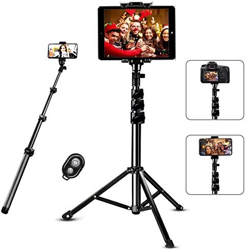 Selfie Stick Tripod SAVEYOUR 51 Extendable Tripod Stand with Universal Phone Pad Clip Remote product image