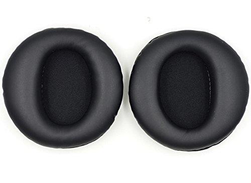YDYBZB Cuscinetti di ricambio per cuffie Sony Pulse Elite PS3 Wireless Stereo CECHYA-0085 (nero)