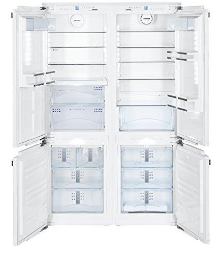 Liebherr 66I3 SBS-frigoriferi'side-by-side (integrato, colore: bianco, A LED, SN ST, ultimo)