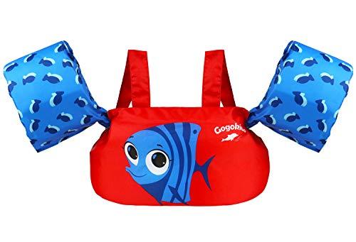 Gilet di Nuoto Bambina Bambino Giacca Galleggiamento Braccioli Giubbotto di Nuoto per Ragazze Ragazzi Giubbotto Galleggiante