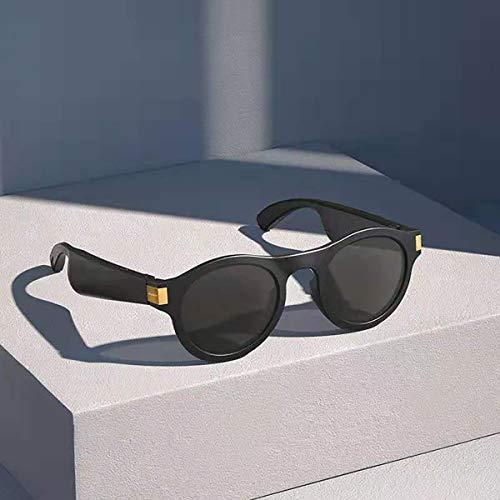 MARXIAO Open-Ear Bluetooth Occhiali da Sole, Occhiali da Sole Audio Impermeabili per Ascoltare Musica Ed Effettuare Chiamate Utilizzando Polarizzato Protezione Occhiali di Sicurezza