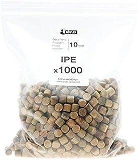 Bouchons Bois - NOVLEK - Boite de 1000, Ipé
