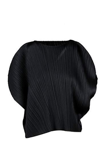 PLEATS PLEASE ISSEY MIYAKE Luxury Fashion Damen PP06JK78115 Schwarz Bluse | Frühling Sommer 20