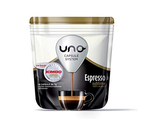 96 Cialde Uno Capsule System Kimbo Espresso Sublime 100% Arabica Originali