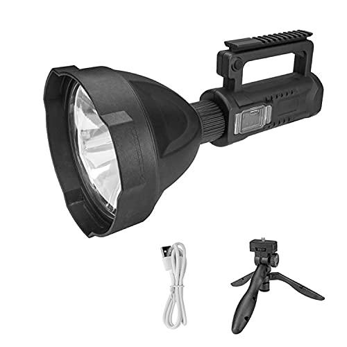 Women's Health Farol de Camping LED - 10W Luz de Emergencia LED - 3 Modos de Luz Linterna Camping - Negro Carga USB Farol de Camping - para Acampar, IR de Excursión, Buscar al Aire Libre, Etc