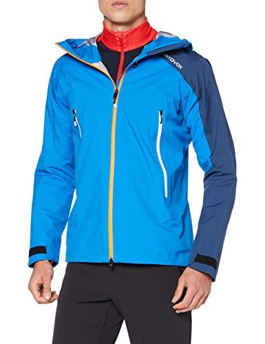 ORTOVOX Herren Westalpen 3L Light Jacke, Safety Blue, L