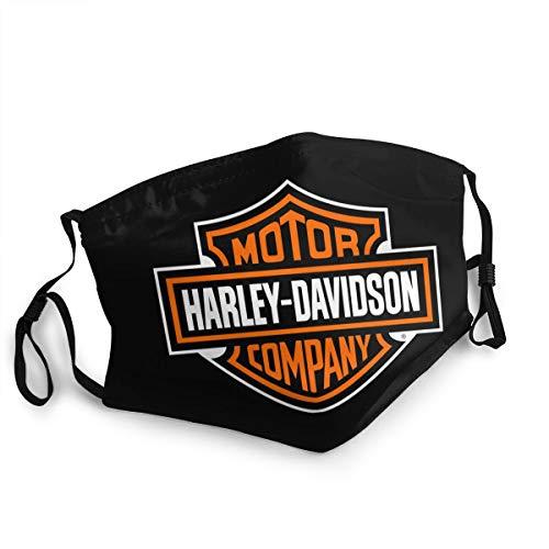 not Antipolvere, Riutilizzabile, Lavabile, per l'Uso all'aperto e in Moto Unisex Harley Davidson Mask