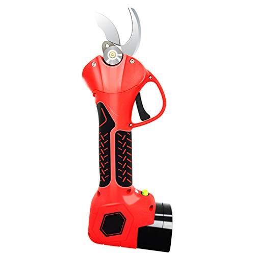Scissors Yxx@ Tijeras de Podar Electricas Tijeras de Podar Bateria Ramas de árboles frutales,2 Batería de Litio Recargable de 2 Ah 16.8V/21V Cortador Eléctrico Ramas inalámbrico Profesional