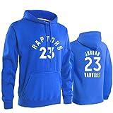 Männer Basketball-Hoodie Fred Vanvleet # 23 Toronto Raptors, Loser Herbst Und Winter Langärmelig...