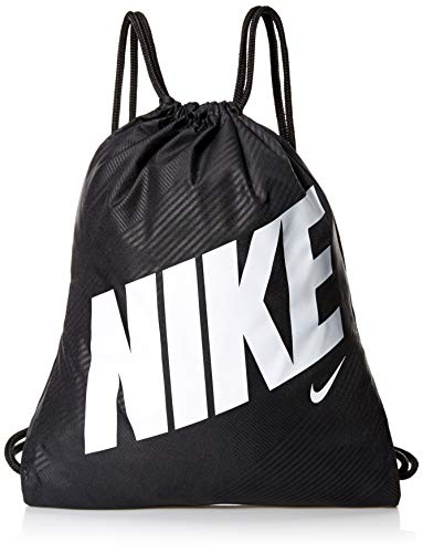 Nike Youth Nike Gym Sack All Over Print Ho19, Black/Black/White, Misc
