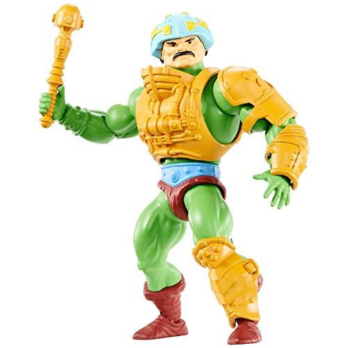 Masters of the Universe- Personaggio Man at Arms 14 cm Giocattolo da Collezione per Bambini 6+ Anni, GNN89