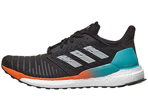 adidas Men's Solar Boost Running Shoe, Black/Grey/hi-res Aqua, 12.5 M US