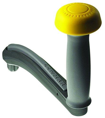 Lewmar Winch Handle, Grey One Touch Power Grip-Mango de cabrestante, Color Gris, Unisex Adulto
