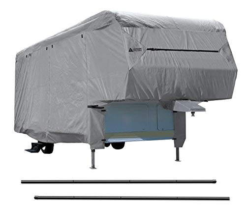 Leader Accessories Windproof 5th Wheel RV Cover Fits 29'-33' Motorhome RV Outdoor Protect Camper Cover