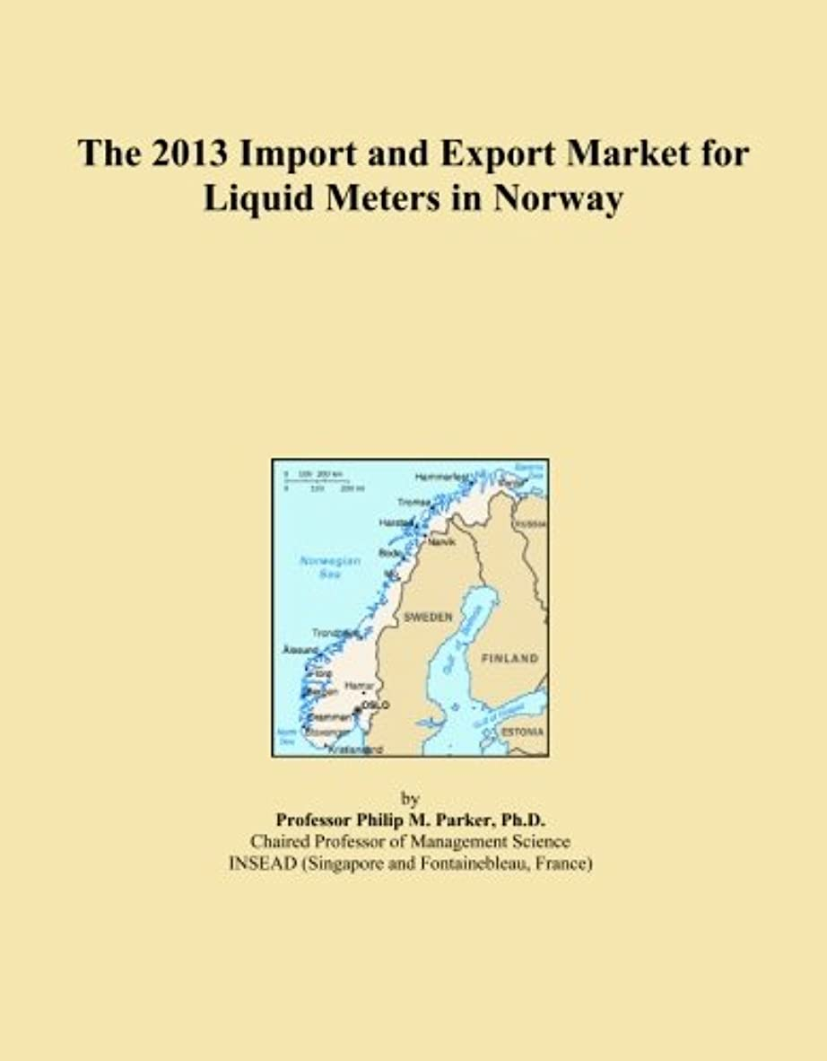 セレナ納得させる発行するThe 2013 Import and Export Market for Liquid Meters in Norway