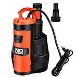 Sump Pump, PROSTORMER 3500 GPH 1HP Submersible Clean/Dirty Water Pump with Build-in Float Switch for Pool, Pond,Garden, Flooded Cellar, Aquarium and Irrigation