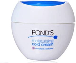 POND'S Moisturing Cold Cream, 200ml with Free Vaseline Intensive Care Cocoa Glow Body Lotion, 40ml