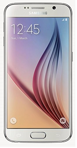 Samsung Galaxy S6 G920 32GB Unlocked GSM 4G LTE Octa-Core Smartphone, White Pearl