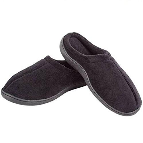 Mundo Digital, Pantofole uomo nero nero nero Size: Talla L:42-44 - Color: Marron