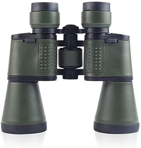 YANGHAO-Telescopio de alta definición y alta poten Binoculares de alta potencia, telescopio binocular 50x50, calidad HD Bak4 prisma, turismo y montañismo, para interiores / exteriores YDLZDGQWYJ-5