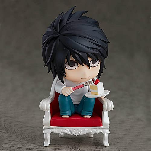 10Cm Anime Death Note Figura L·Lawliet PVC Figura De Acción Modelo Muñeca Regalo