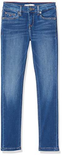 Tommy Hilfiger Mädchen Nora Rr Skinny Slifbst Jeans, Blau (Denim 1A6), One Size (Herstellergröße: 86)