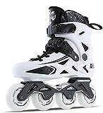 Suge Roller Skates Frauen und Männer Inline Skates Outdoor-Weiß...