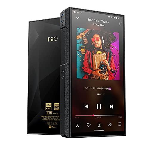FiiO M11 Plus LTD MP3/MP4 Music Player with Dual AK4497 Hi-Res Android 10 Snapdragon 660,THX AAA, 5.5inch, 64G, MQA 8X, atpX HD/LDAC Bluetooth5.0/DSD/Tidal/Spotify/4.4 Balance Output