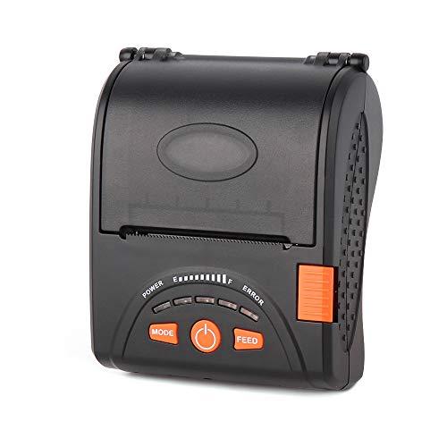 LOSRECAL Impresora de Etiquetas Térmica Bluetooth 4.0 Inalámbrica, Tiketera de 58mm de Recibos, ESC/POS USB Compatible con Android/Windows, Batería 1500 mAh & Correa Incluida (Impresora-001)