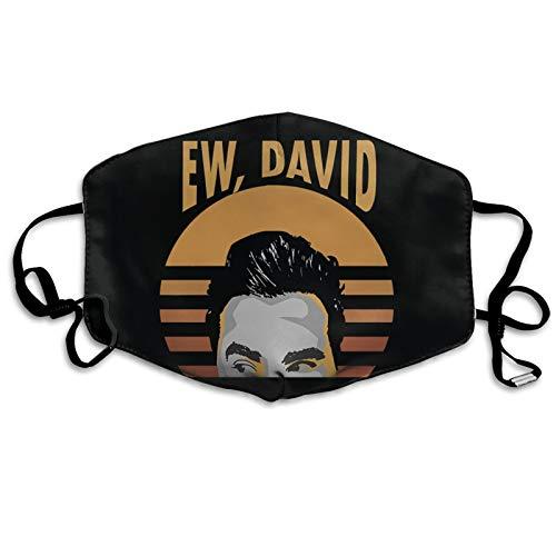 Ew David Alexis Schitt'S Creek Fashion 3d Printed Breathable Soft Outdoor Mask Protection Unisex Dustproof Reusable££