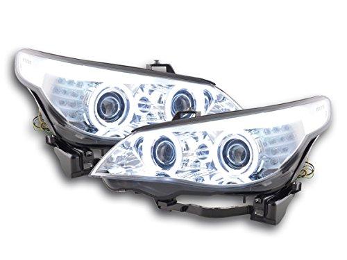 FK-Automotive phare Angel Eyes, Chrome RHD