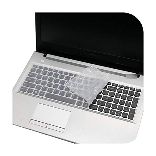 Silicone Keyboard Protector Cover Skin for Lenovo Ideapad Z580 Z560 Z565 Z570 Z575 Z500 Z501 Z505 Z510 Z585 V580 V570 U510 S500-Clear-