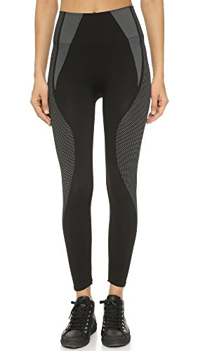SPANX Women's Cropped Athletic Seamless Leggings, Athletic Black, X-Large