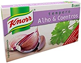 Knorr Garlic and Coriander Bouillon Cubes 8 Pack 72 grams Stock Cubes Garlic Coriander Seasoning Mix